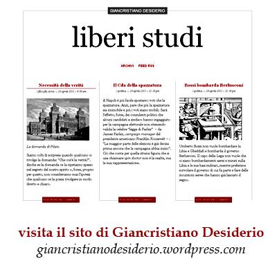 Visita il sito di Giancristiano Desiderio